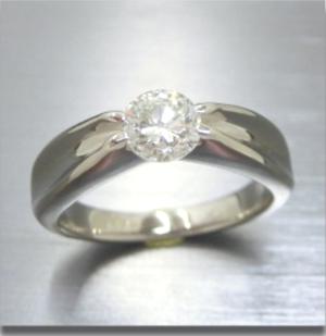 【実例358】立爪ダイヤリングをリメイク