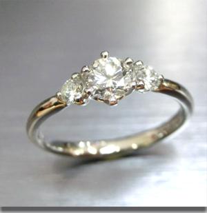 【実例346】お義母様からお嫁さんへダイヤモンドのリレー