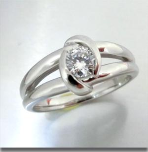 【実例351】母から娘へ 婚約指輪のリフォーム