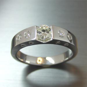 【実例314】40年前の婚約指輪をリフォーム