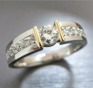 【実例304】ダイヤモンドリングを最新のデザインにリフォーム