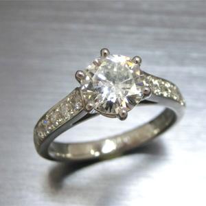 【実例295】代々受け継いできたダイヤモンドを使ってリフォーム