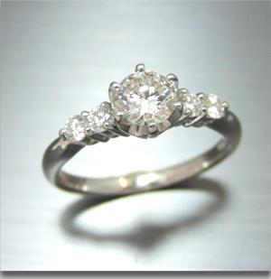 【実例366】婚約指輪を普段使いにリフォーム