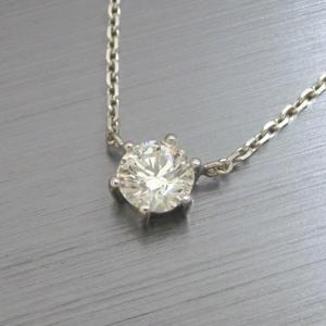【実例277】お母様のダイヤモンドリングをプチペンダントにリフォーム