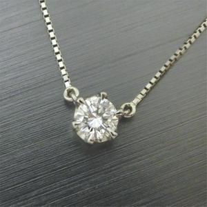 【実例276】ダイヤモンドリングをシンプルなペンダントへリフォーム