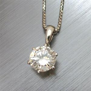 【実例274】1.5カラットのダイヤモンドのリングをペンダントにリフォーム