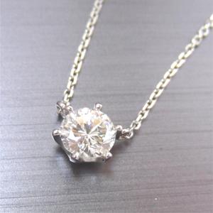 【実例286】婚約ダイヤモンドリングをペンダントへリフォーム