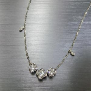 【実例264】ダイヤリングとピアスからオリジナルペンダントを作成