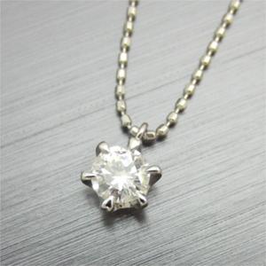 【実例283】手持ちのダイヤモンドをプチペンダントへリフォーム