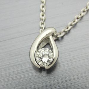 【実例282】ダイヤモンドリングからシンプルなデザインのペンダントに