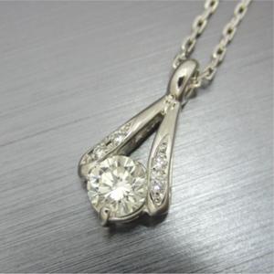【実例281】婚約指輪を普段使いのペンダントにリフォーム