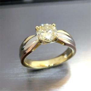 【実例114】ダイヤモンドのペンダントをエンゲージリングにリフォーム