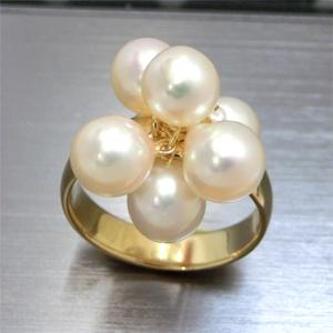 【実例113】真珠のペンダントをリングにリフォーム