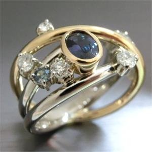 【実例245】アレキサンドライトの指輪を研磨してリフォーム
