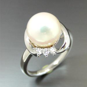【実例235】お母様のアコヤ真珠の指輪を可愛らしくリフォーム