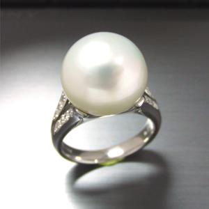 【実例234】14ミリの大粒南洋真珠をシンプルにリフォーム