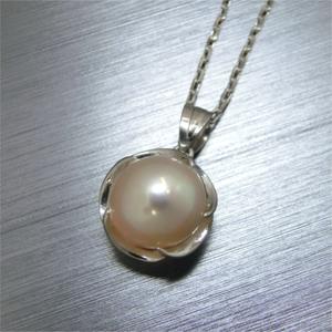 【実例218】アコヤ真珠のリングをペンダントにリフォーム