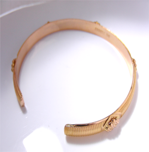 【実例73】ゴールドのブレスレットのサイズ加工