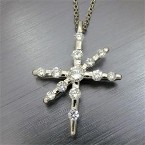 【実例12】リングとダイヤのペンダントからオリジナルペンダントを作成